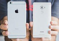 Huawei Mate S vs Apple iPhone 6s Plus: Comparación entre el Force Touch y el 3D Touch