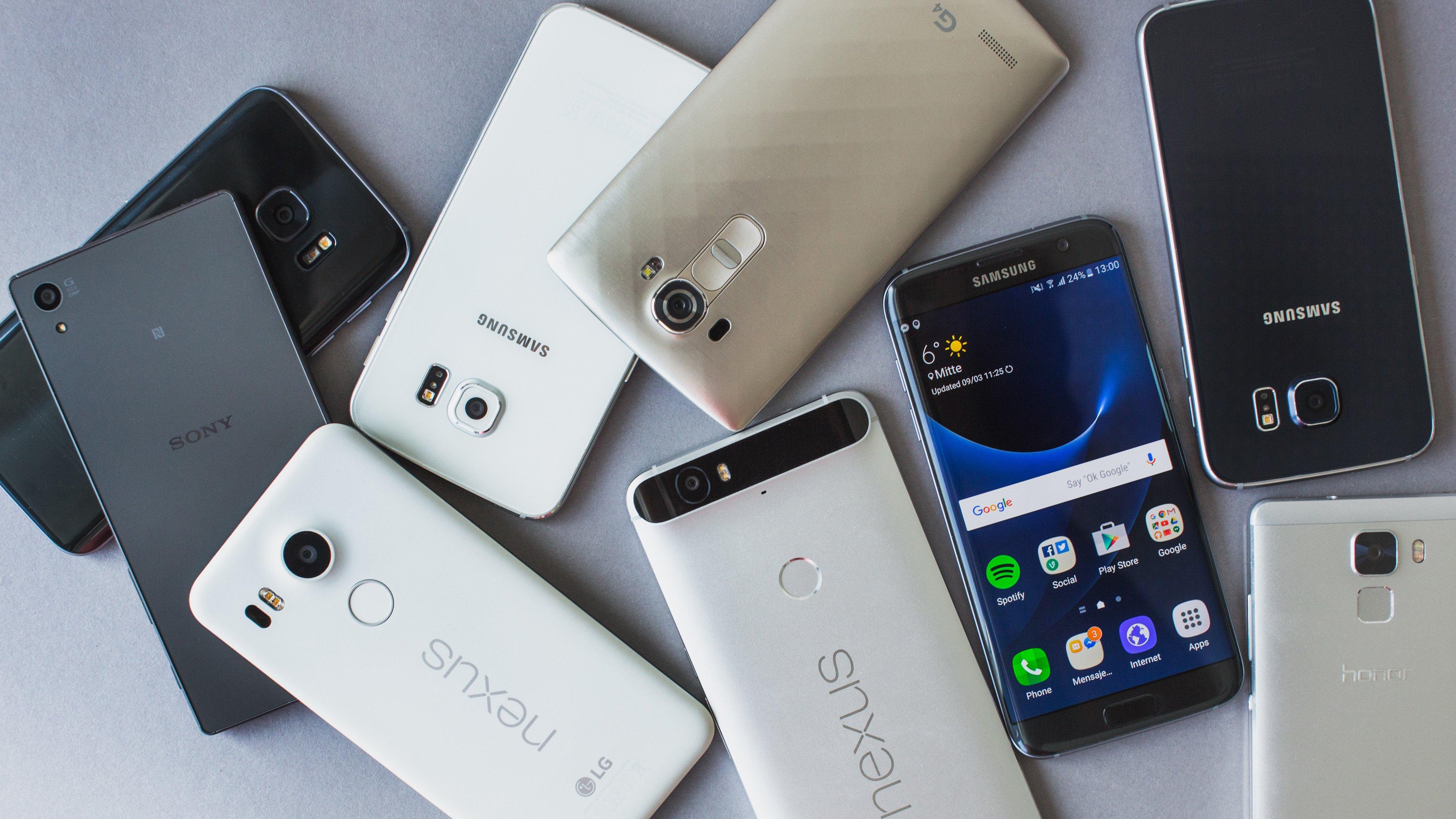 les meilleurs smartphones android en 2017 androidpit. Black Bedroom Furniture Sets. Home Design Ideas