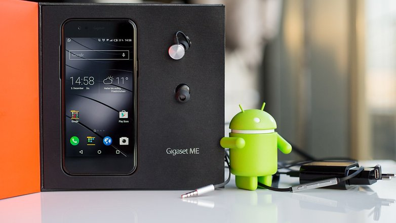 AndroidPIT gigaset me 1