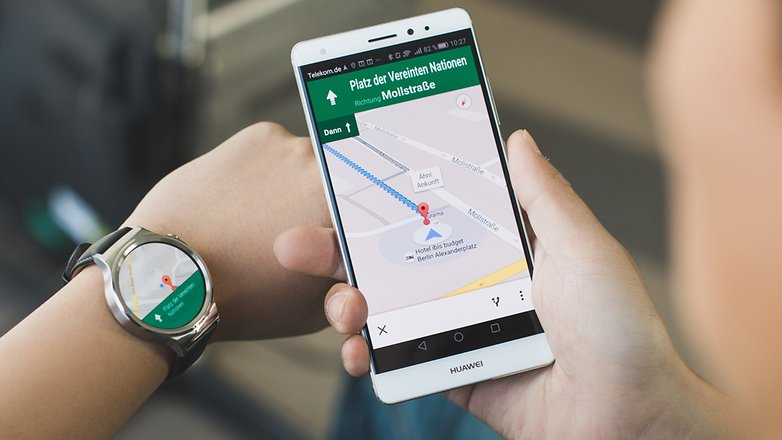 androidpit Huawei Watch huawei mate s google maps