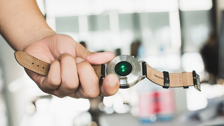 androidpit Huawei Watch sensor