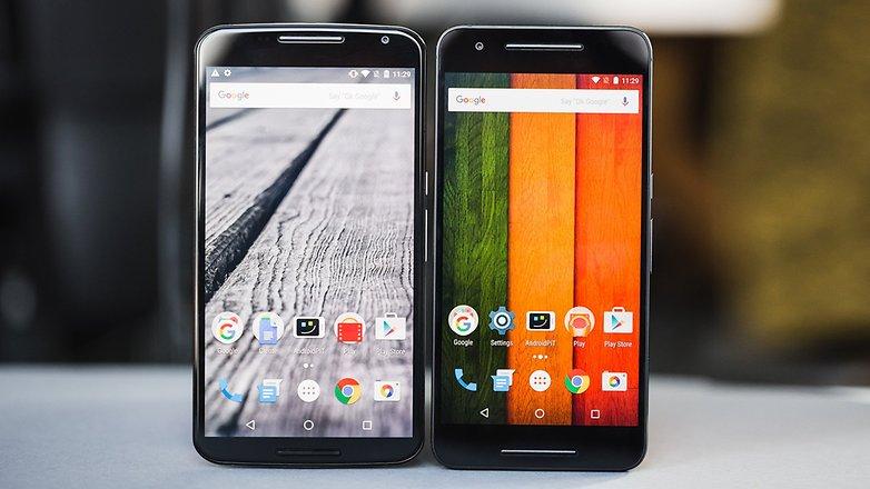 androidpit Nexus 6 vs Nexus 6P 6