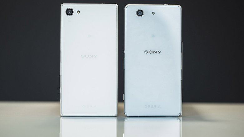 androidpit xperia z3 compact vs xperia z5 compact 1