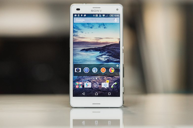 androidpit sony xperia Z3 compact 1