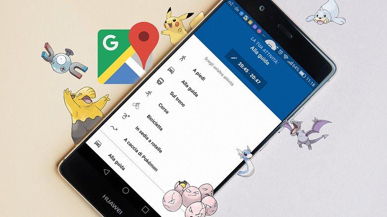 AndroidPIT Google Maps pokemon feature