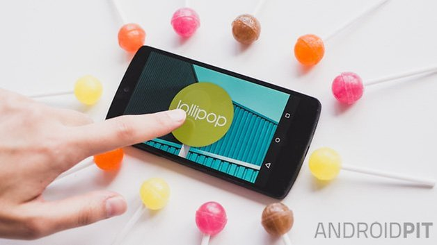 Android L lollipop easter egg 2