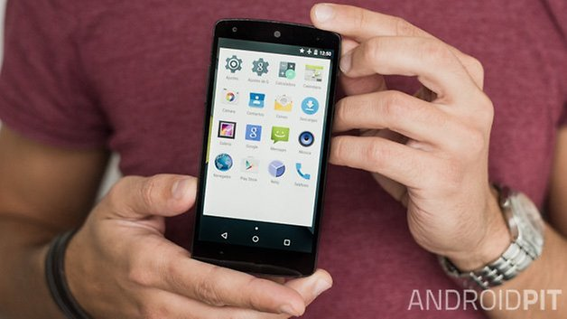 Android L lollipop interface 2