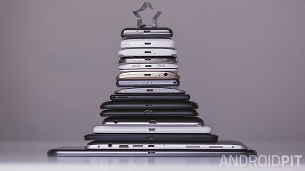 Androidpit Christmas phones and tablets tree 4