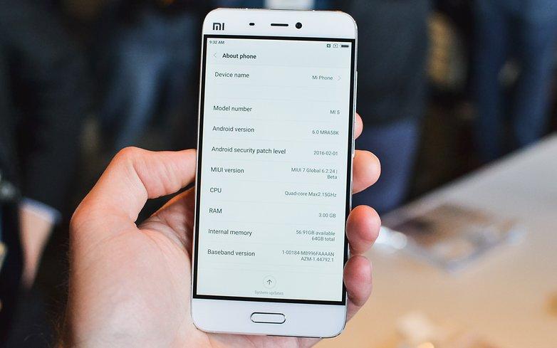AndroidPIT Xiaomi MI5 16 2