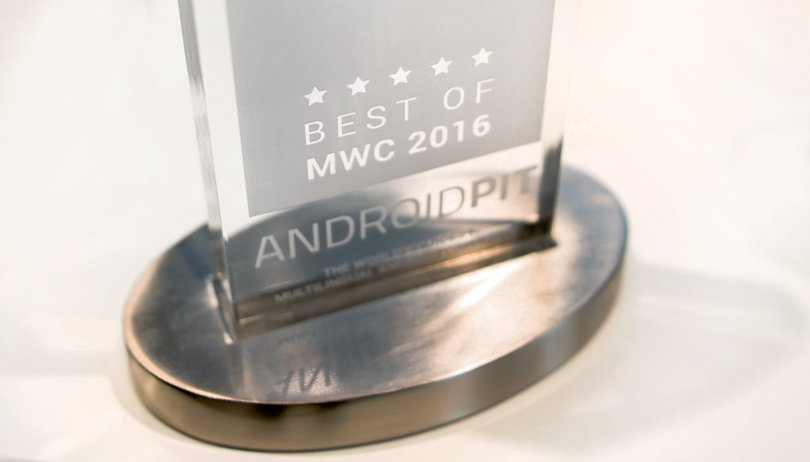 AndroidPIT Awards : les grands gagnants du MWC 2016