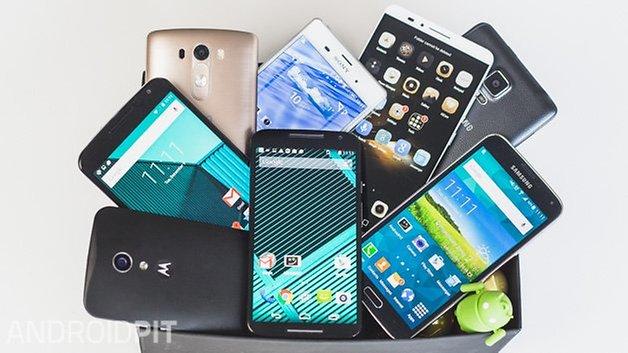 Phone flagships for christmas 2014 Brazil