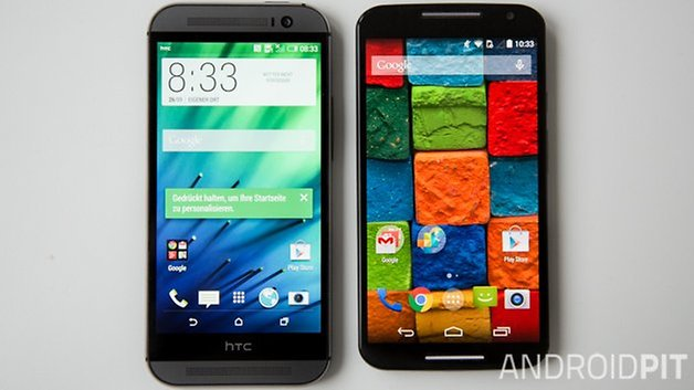 MotoX vs HTC M8 interface deutsch 3