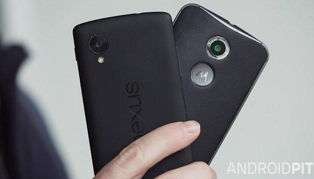 Moto X 2014 vs. Nexus 5: guerra de Androids