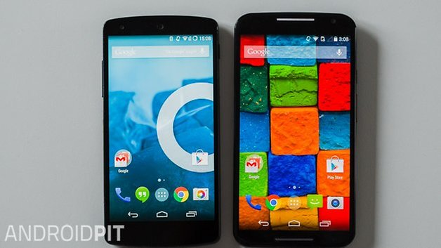 MotoX vs Nexus5 interface deutch 3