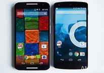 Nexus 5 vs Moto X 2014 : quand un petit rien peut tout changer