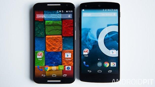 MotoX vs Nexus5 interface french 3