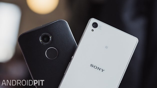 MotoX vs Sony Xperia Z3 front 1