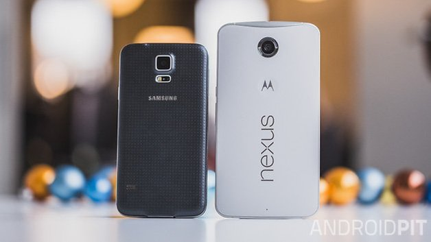 Nexus6 vs SamsungGalaxy S5 3
