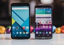 Nexus 6 vs LG G3 - Comparación