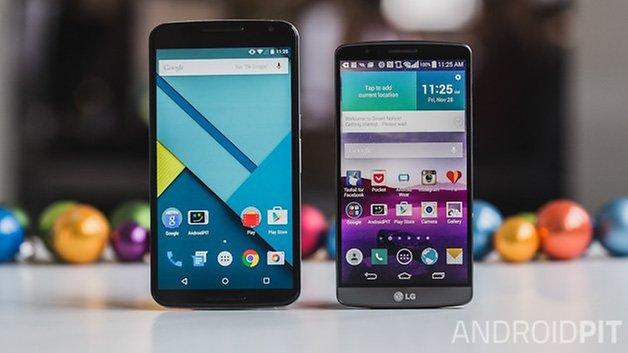 Nexus6 vs LG G3