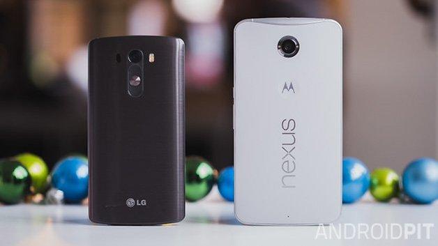 Nexus6 vs LG G3 1