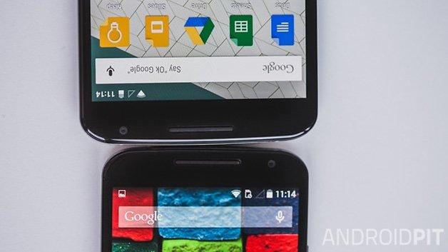 Nexus6 vs MotoX2014 4