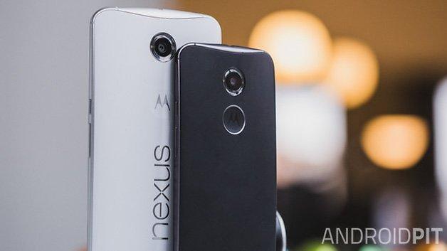 Nexus6 vs MotoX2014 front