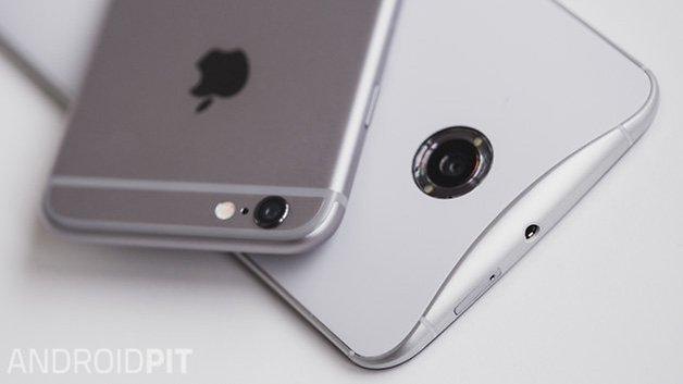 Nexus6 vs iPhone6 7