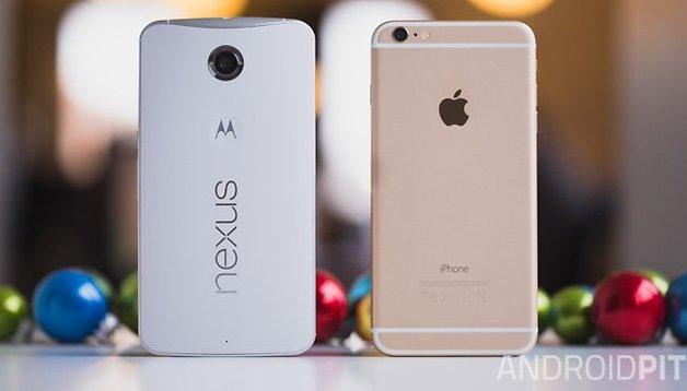 Nexus 6 vs iPhone 6 Plus - La hora de la verdad