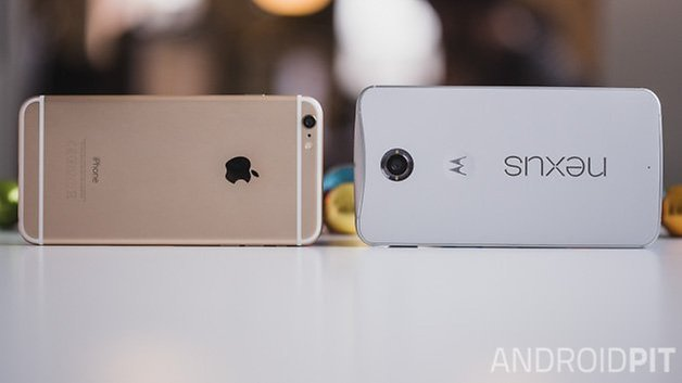 Nexus6 vs iPhone6 plus 1