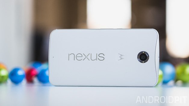 Nexus 6 hands on ANDROIDPIT back horizontal