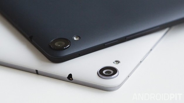 Nexus 9 2014 ANDROIDPIT cameras close up 4