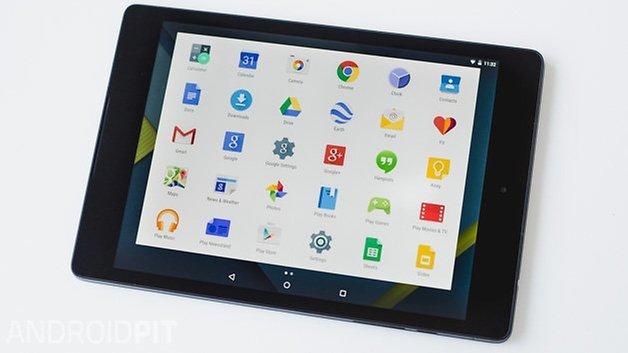 Nexus 9 2014 ANDROIDPIT menu