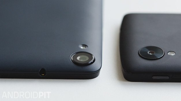 Nexus 9 and nexus 5 2014 ANDROIDPIT cameras close up