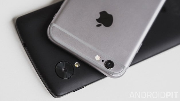 Nexus5 vs iPhone6 2