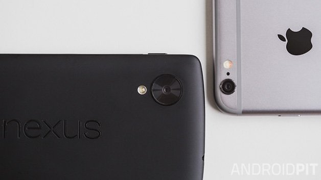 Nexus5 vs iPhone6 3