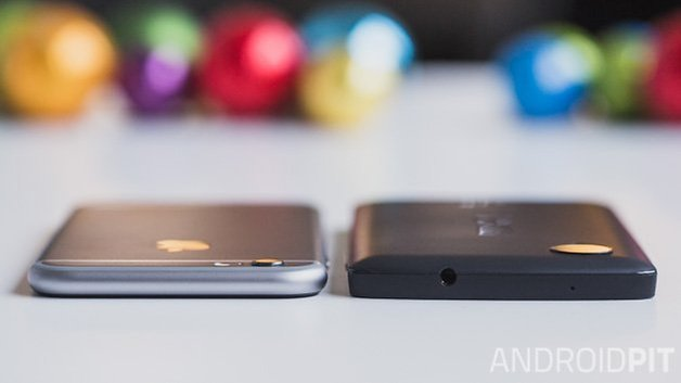 Nexus5 vs iPhone6 6