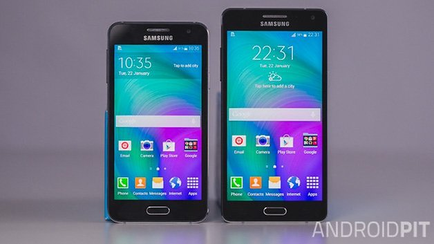 Samsung Galaxy A3 vs Samsung Galaxy A5 ANDROIDPIT 1