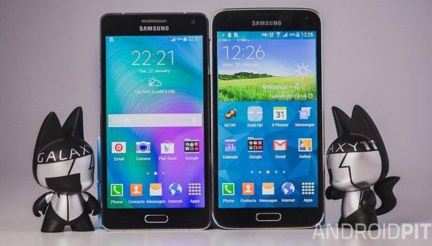 Comparación entre el Samsung Galaxy S5 vs Galaxy A5 - Dos gamas, dos conceptos
