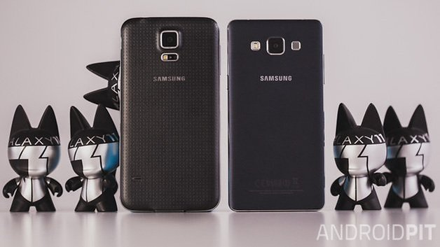 Samsung Galaxy S5 vs Samsung Galaxy A5 3