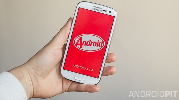 Android kitkat 4 4 4 on Samsung Galaxy S3