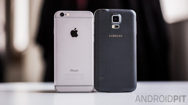 Samsung galaxy S5 vs iPhone6 1