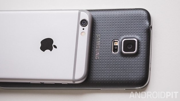 Samsung galaxy S5 vs iPhone6 13