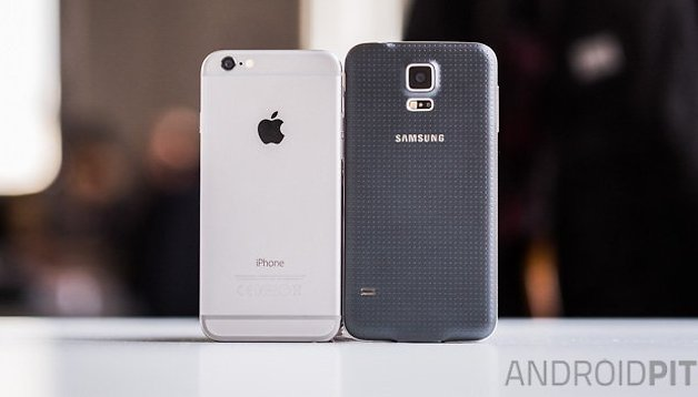 Test comparatif : iPhone 6 vs Samsung Galaxy S5