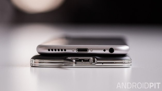 Samsung galaxy S5 vs iPhone6 9