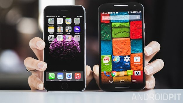 iPhone 6 vs MotoX