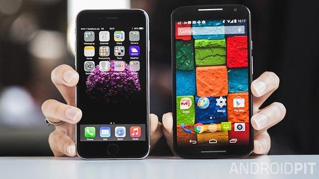 iPhone 6 vs MotoX