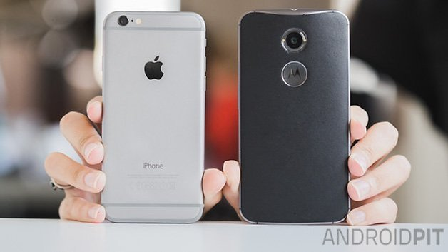 iPhone 6 vs MotoX 2