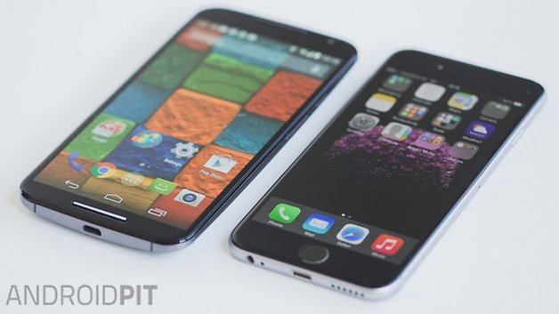 iPhone 6 vs MotoX 3
