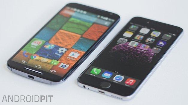 iPhone 6 vs MotoX 3